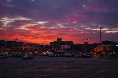 Sunset. Chicago, IL 2015