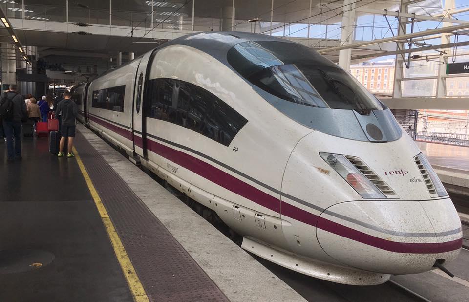 AVE High Speed . Barcelona-Madrid