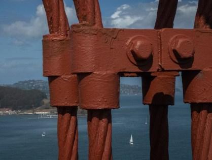 Touristy SF . Golden Gate Bridge and Chinatown