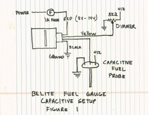 Manual for new universal LED Fuel Gauge from Belite Electronics | Chipper