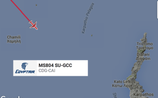 EgyptAir flight MS804 other aircraft 12