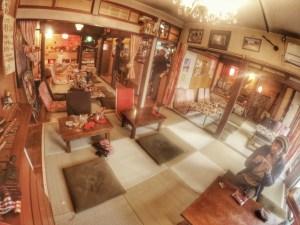 琉球畳の店内