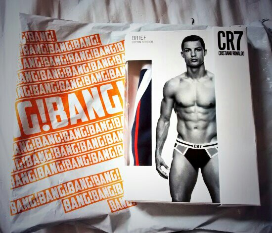 Bang + Stike Launch The CR7 Underwear Range From Christiano Ronaldo underwear mensfashion menswear male model instagram collection campaign