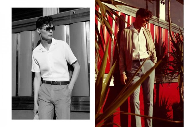 Reiss S/S14 Menswear 'Cool In The Heat' Lookbook. lookbook collection s/s14 spring summmer new exclusive collection