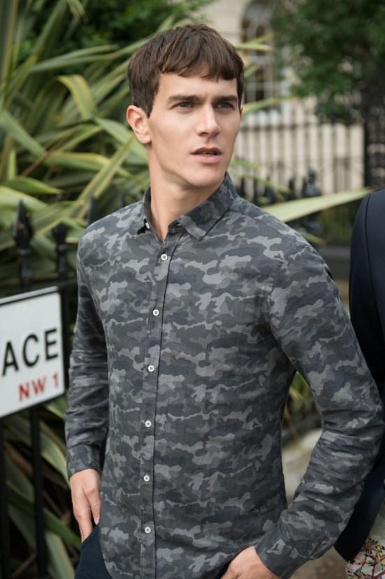 Zara 'Play' Menswear S/S14 Lookbook camouflage overshirt zara menswear mensfashion