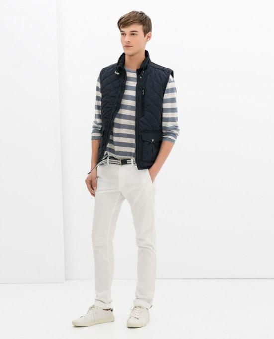 Zara Man S/S14 Lookbook Update. nautical stripes collection lookbook style menswear mensfashion lookbook fblogger blog blogging looks