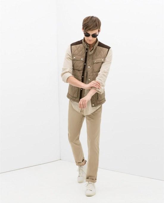Zara Man S/S14 Lookbook Update. zara man menswear mensfashion lookbook collection campaign style beige explorer safari