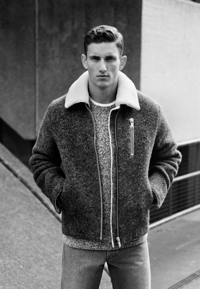 COS A/W14 Menswear Campaign coat jacket style fashion menswear mensfashion