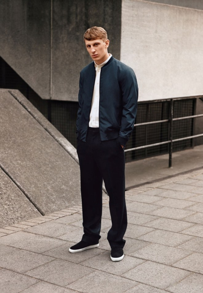 COS A/W14 Menswear Campaign Lookbook tailoring suiting formal casual style fashion menswear mensfashion lookbook style outfit wiwt ootd
