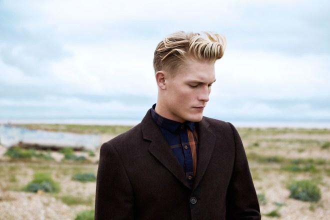 River Island Holloway Road A/W14 Menswear Lookbook denim tweed jacket shirt style fashion menswear mensfashion