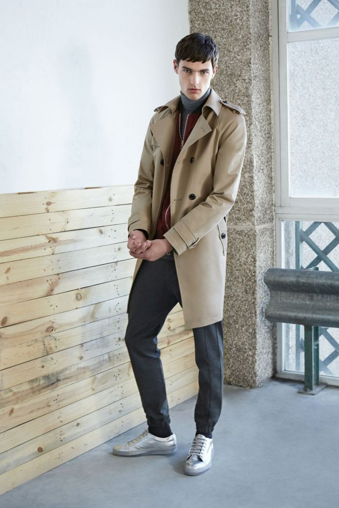 Zara A/W14 Menswear Lookbook Update menswear mensfashion mac burberry metallic shoes layering