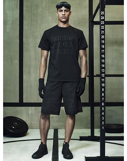 Alexander Wang For H&M Full Menswear Lookbook #AlexanderWangxHM all black designer collaboration menswear mensfashion all black