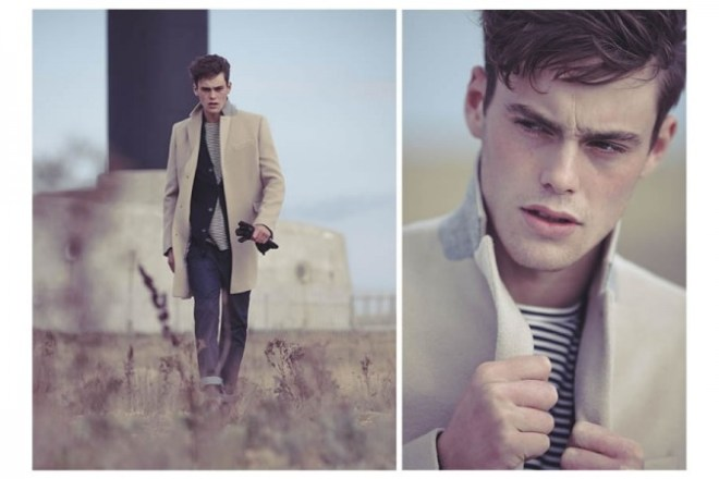 Reiss A/W14 'Cover Story' Menswear Lookbook. menswear mensfashion lookbook collection style fasion outerwear coats autumn winter 2014 male model