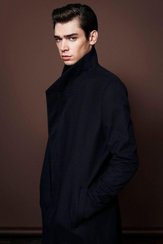 AllSaints Christmas 2014 Menswear Lookbook coat jacket fashion menswear mensfashion lookbook collection style