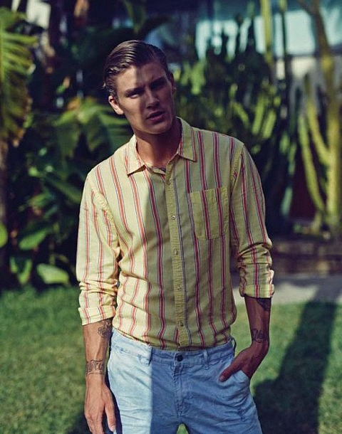 Scotch & Soda S/S15 Campaign spring summer 2015 lookbook collection prints patterns colour outfit wiwt ootd scotch and soda male model fbloggers blogger blogging instagram