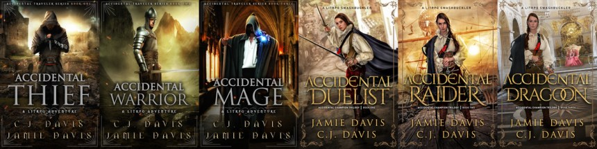 Accidental LitRPG Fantasy Book Series