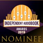 Independent Audiobook Awards 2019 Nominee Badge