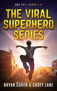 Viral Superheroes box set cover