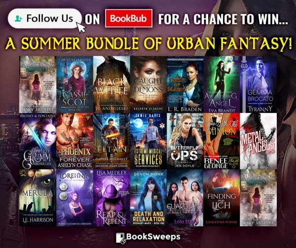 Bookbub Urban Fantasy Giveaway