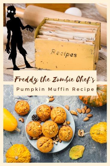 Freddy Pumpkin Muffin Recipe