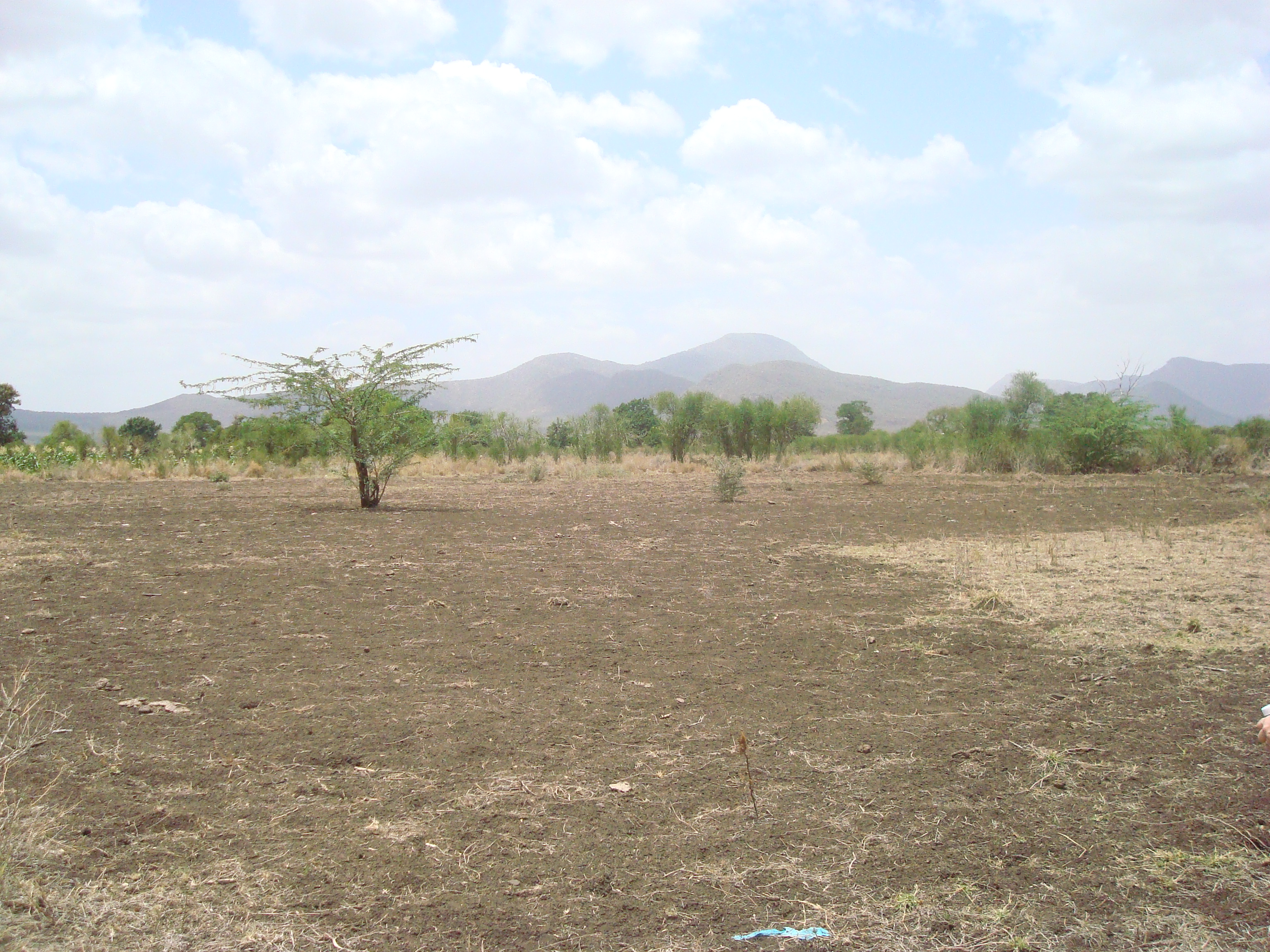 Site of school/church facility in Isiolo.