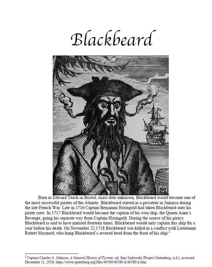 Blackbeard projects