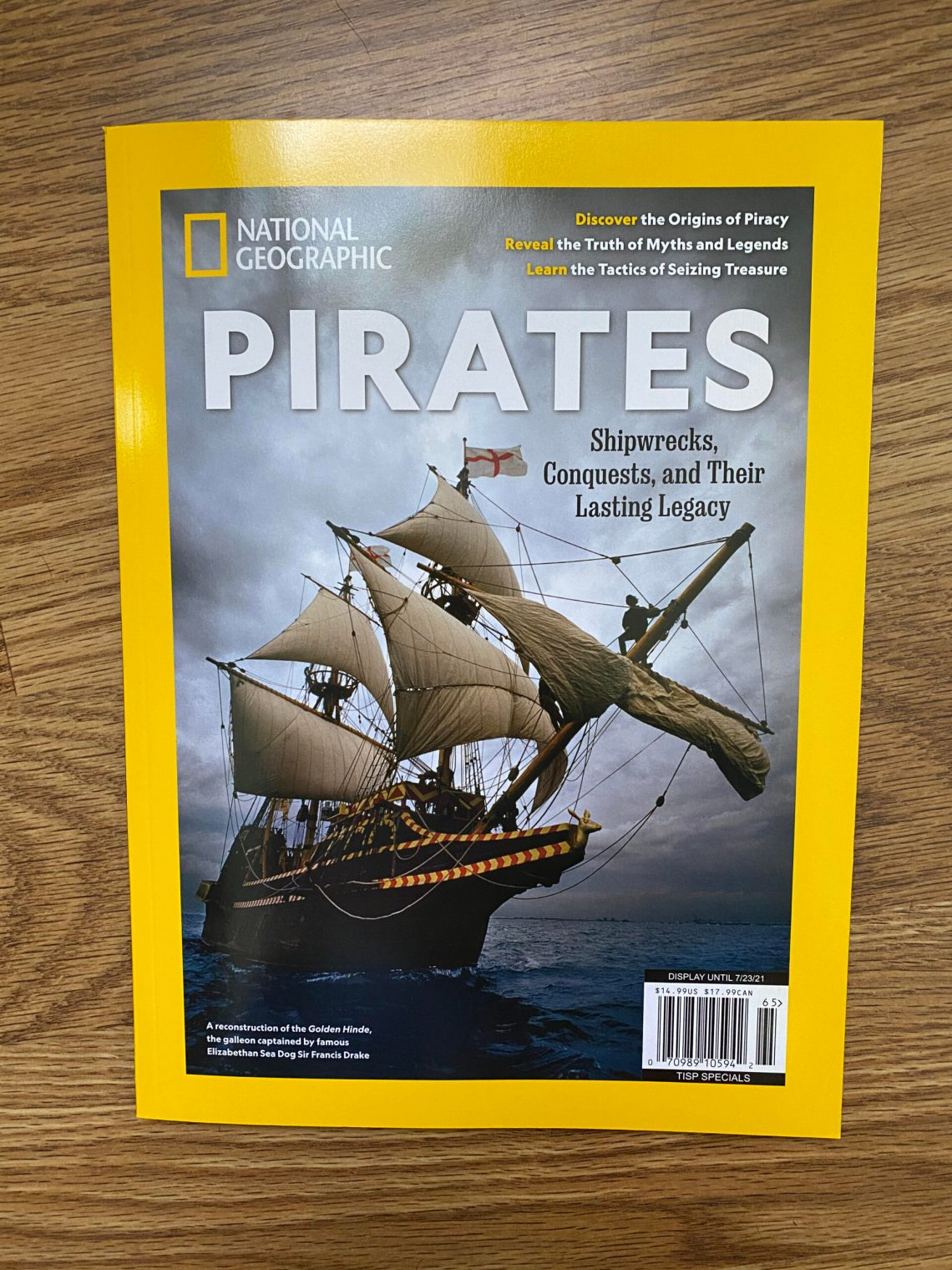 Front Cover: Pirates