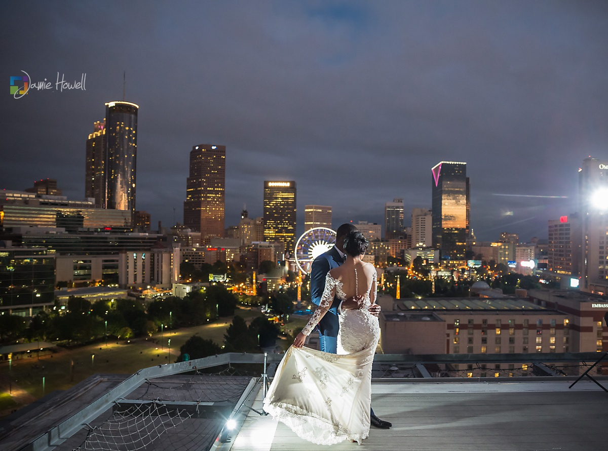 Karl And Ashley Ventanas Atlanta Fusion Wedding Jamie