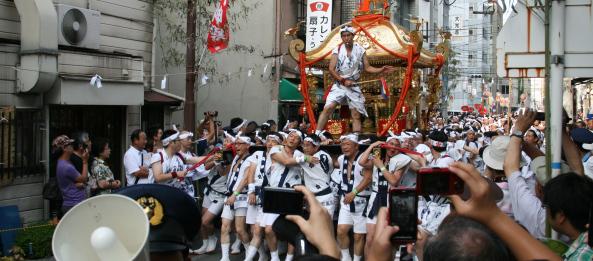 Tenjinmatsuir Osaka