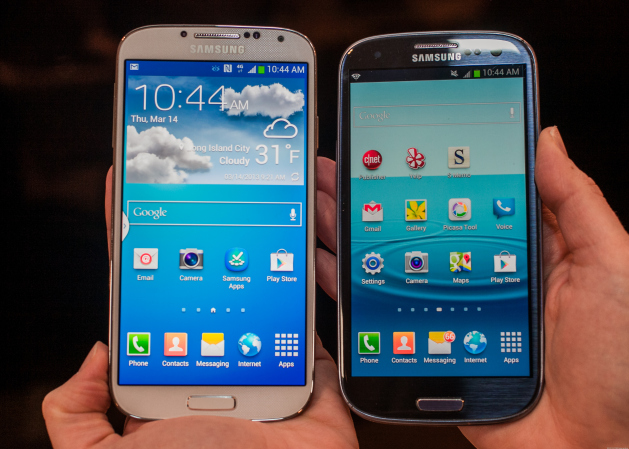 Comparison between S3 and S4