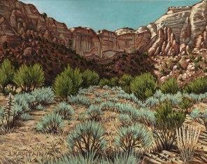 'Near Abiquiu, New Mexico No.2′ (2012-13) by Jamie Kapitain