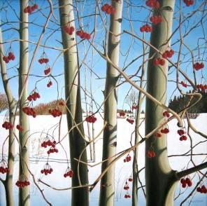 'Winter Berries No.2' (2005) by Jamie Kapitain