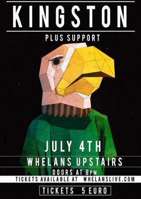 Kingston Poster Whelans