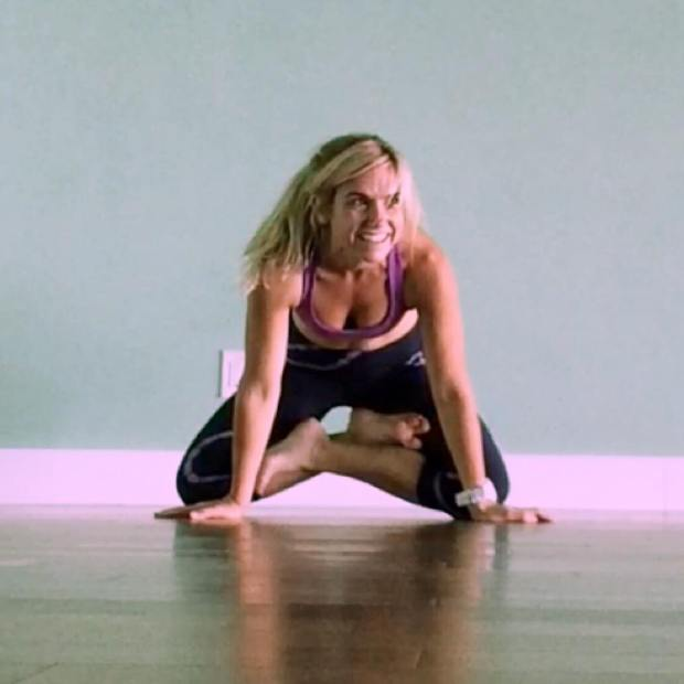 Lotus pose yoga