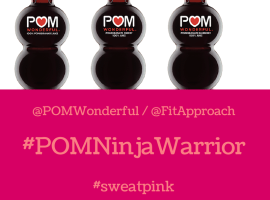 Pom Wonderful Twitter Party with Sweat Pink