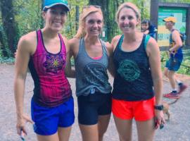 GoBeyondRacing workout buddies sweatpink liveinprana