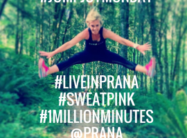 Jumpjoymonday sweatpink liveinprana