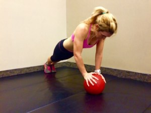challenging push-up variation