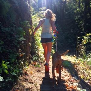 Forest Park trail run