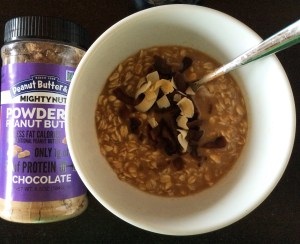 Mighty Nut peanut butter oatmeal