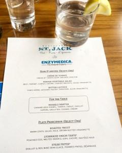 st jack Portland menu