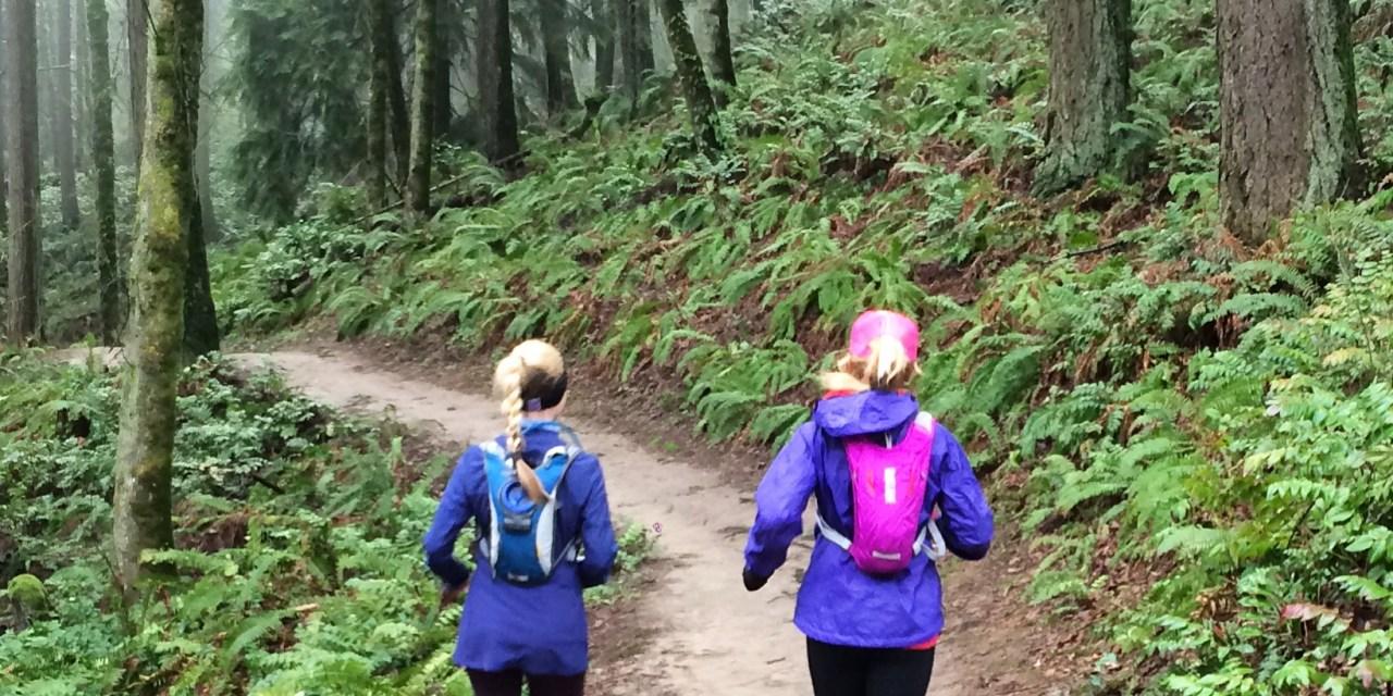 Running Wildwood Trail in Portland