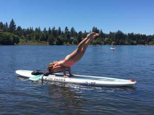 SUP Yoga Bend