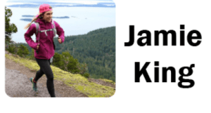 Jamie King ultra marathoner