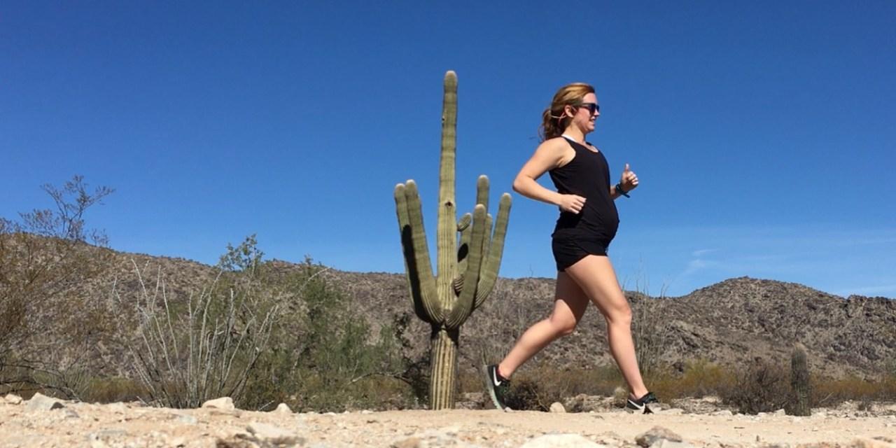 pregnant runner fit pregnancy