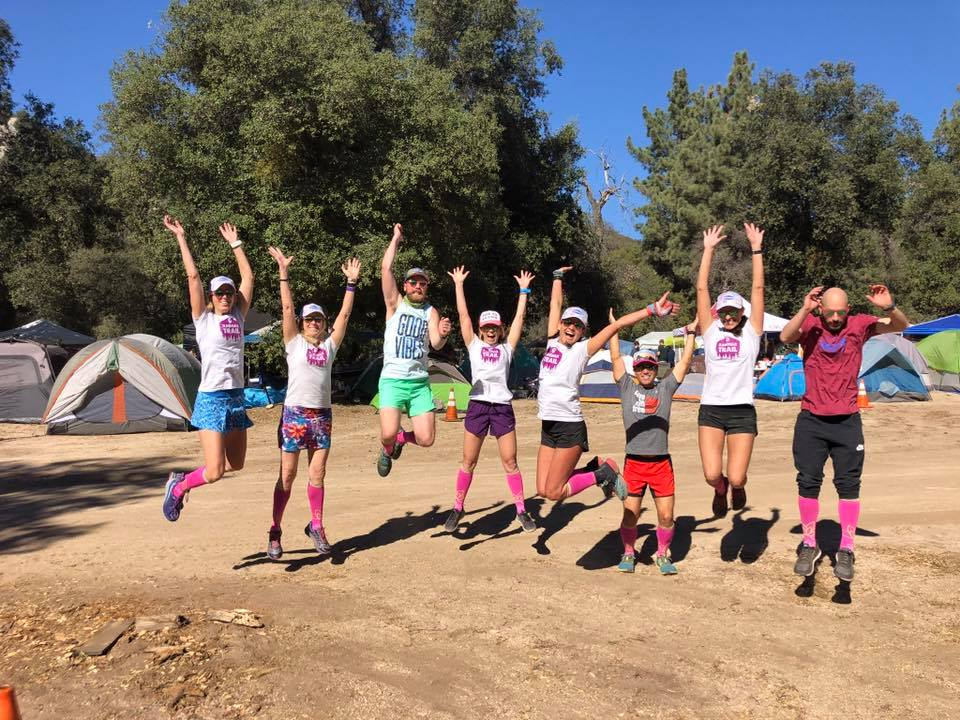 Ragnar Trail Los Coyotes Sweat Pink