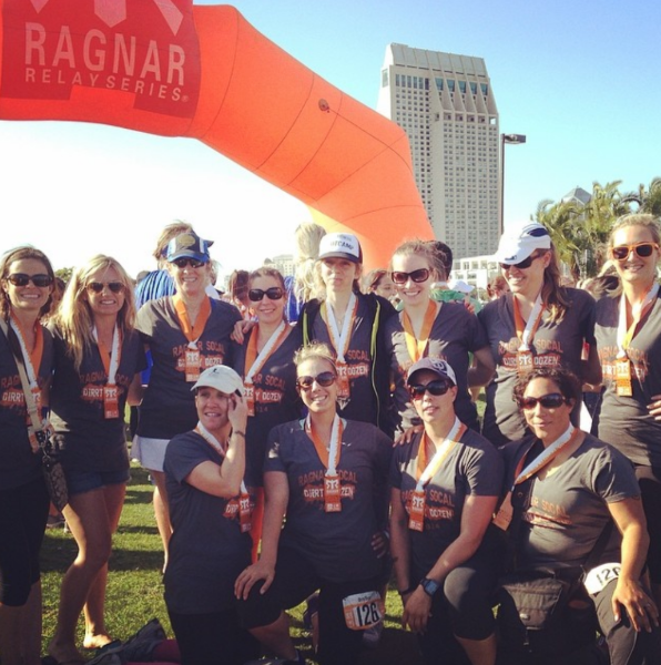 Ragnar Relay Sweat Pink