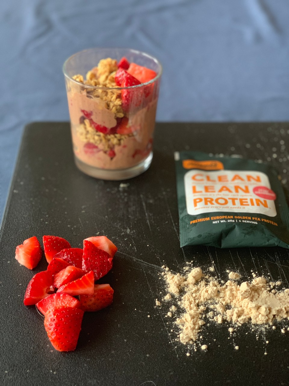 Strawberry Nice Cream recipe Nuzest