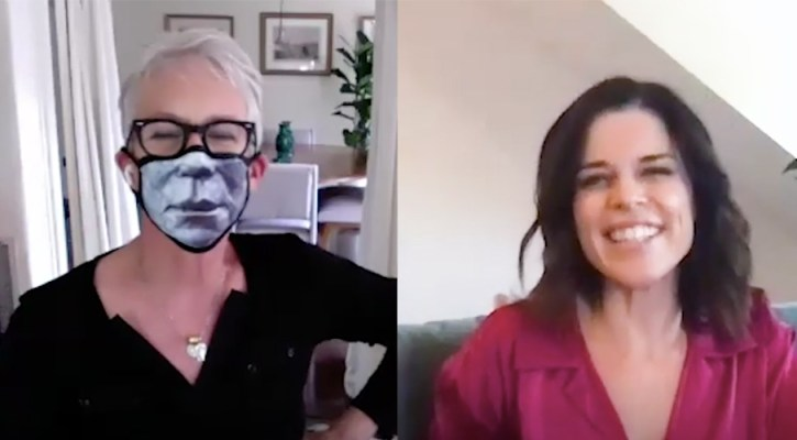 Jamie Lee Curtis & Neve Campbell Chat Virtually