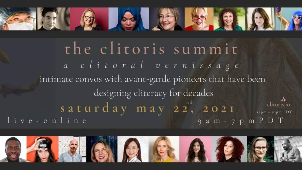 The Clitoris Summit flyer